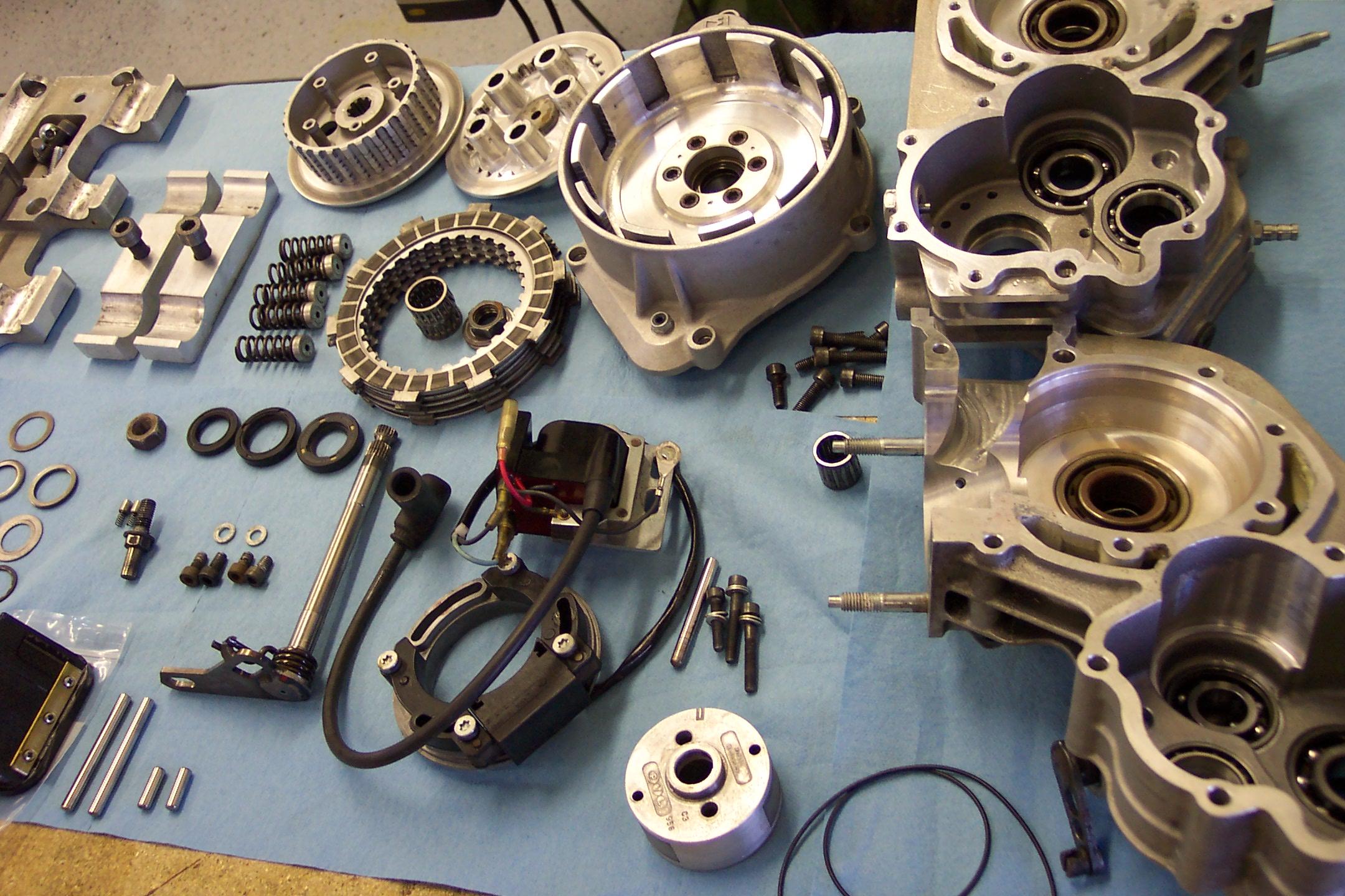 Motorcycle Transmission Rebuild